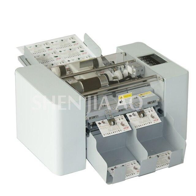 a4 size automatic business card cutting machine paper card cutter electric paper slitting machinepaper - Business Card Cutter