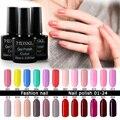 Mdskl 132 colores uv gel nail polish 10 ml belleza soak-off de uñas glitter uv gel laca de uñas nail art manicura led barniz