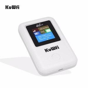 Image 3 - KuWFi מיני 4G LTE WIFI נתב סמארטפון נייד 3G/4G Wifi נתב מודם רכב Wi fi נתב עם כרטיס ה sim חריץ