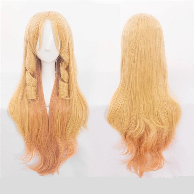 New Eromanga Sensei Yamada Elf Cosplay Wigs 80cm Heat Resistant Synthetic Hair Halloween Costumes Cosplay Wig High Quality