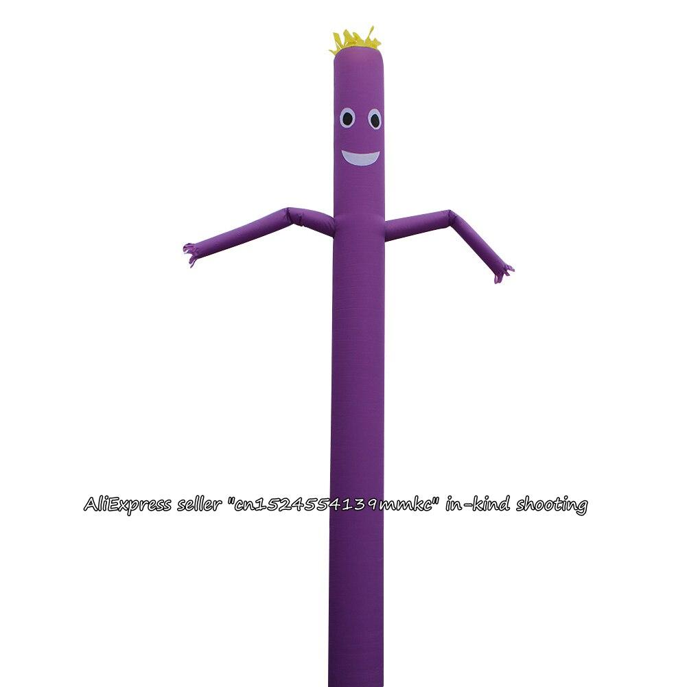 Воздух танцор небо танцор надувная трубка небо кукольный человек кукла 20 футов 6 м для 45 см воздуходувки (фиолетовый)