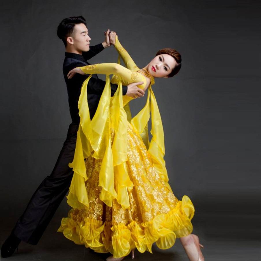 Acheter nouveau big swing paillettes robe - Danse de salon lorient ...
