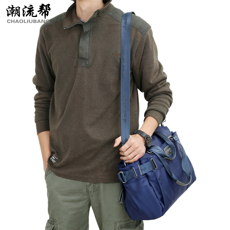 2018 NEW Brand fashion waterproof nylon Oxford cloth bag Women handbag men shoulder Messenger Bag travel cross-body bag Unisex