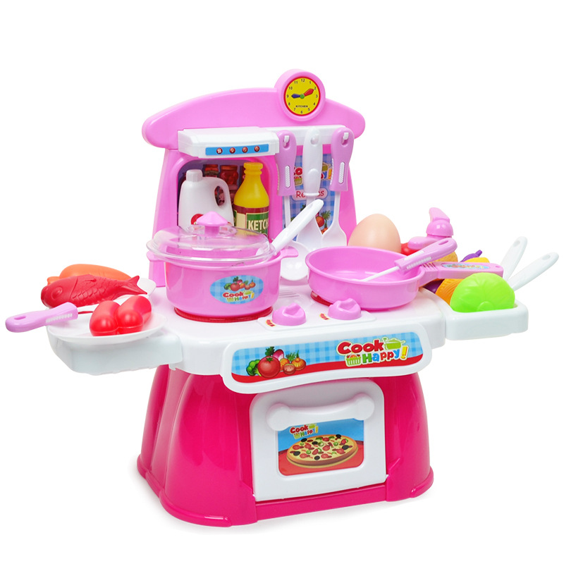 Pretend Play Set Kitchen Toys Girls Cooking Utensils Tableware Children's Educational Toys classic toys pretend play doctor toys mother garden playsets medicine toys set sxr