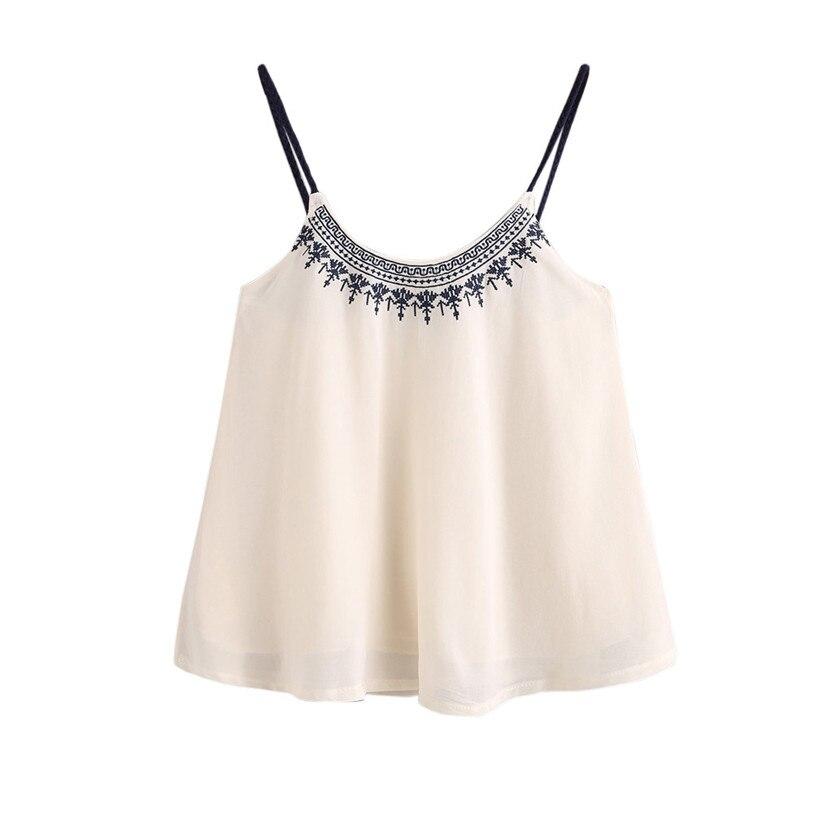 Tank Top Women 2017 Summer Women Casual Sleeveless Crop Top Vest Tank Shirt Blouse Cami Top Feminina Plus Size Female Top Jane 1