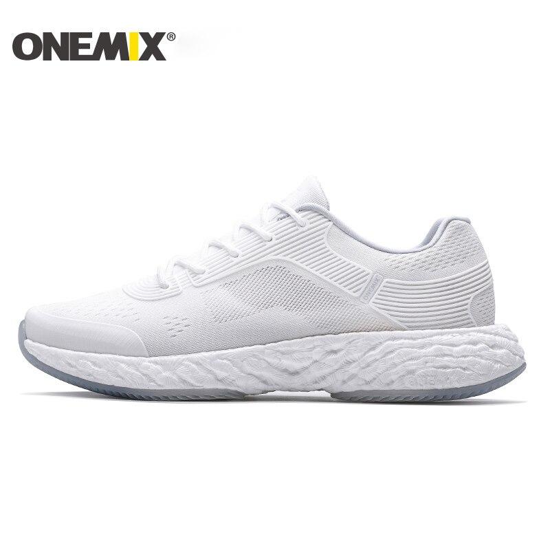 ONEMIX легкий кроссовки мощный отскок дышащие жаккардовые вамп нежный сенсорный чувство мужские Max 12,5