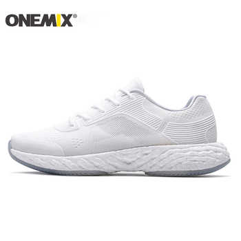 ONEMIX Lightweight Running Shoes Powerful Rebound Breathable Jacquard Vamp Gentle Touch Feeling Mens Sneakers Max 12.5 - DISCOUNT ITEM  51% OFF Sports & Entertainment
