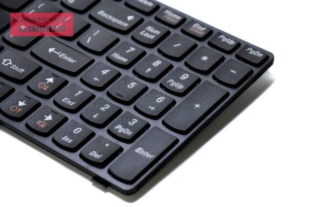 Le nouveau clavier anglais pour LENOVO G500 G510 G505 G700 G710 noir