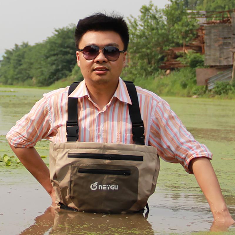 Prix pour Haute qualité waders de pêche pour les hommes, étanche botas de pescador, pesca pantalon de patauger avec le bas pied