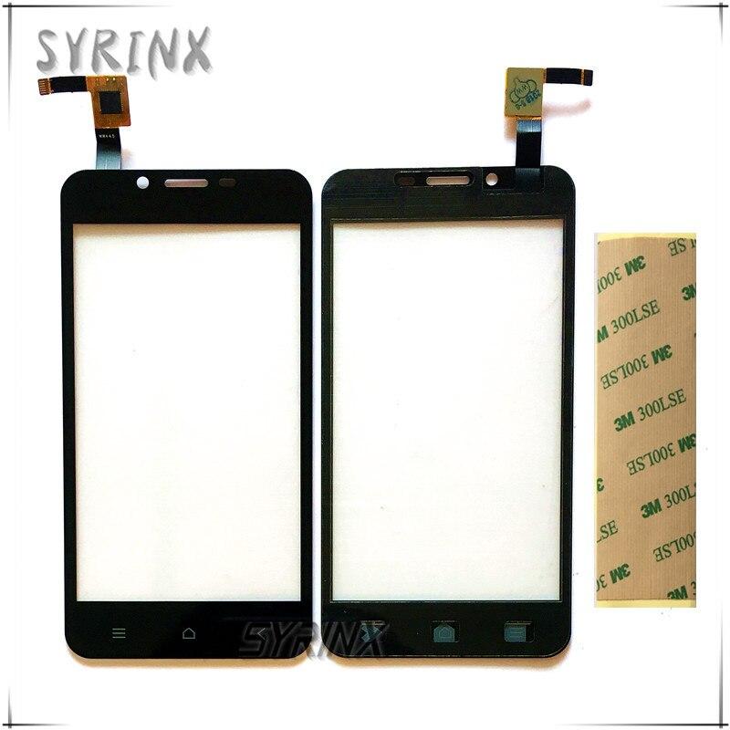Syrinx Avec Bande Moible Téléphone Écran Tactile Capteur Pour DEXP Ixion X140 Tactile Panneau Écran Digitizer Verre De Réparation de Remplacement