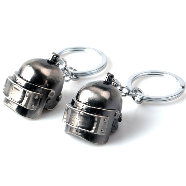 PUBG Helmet Armor Model Key Chain