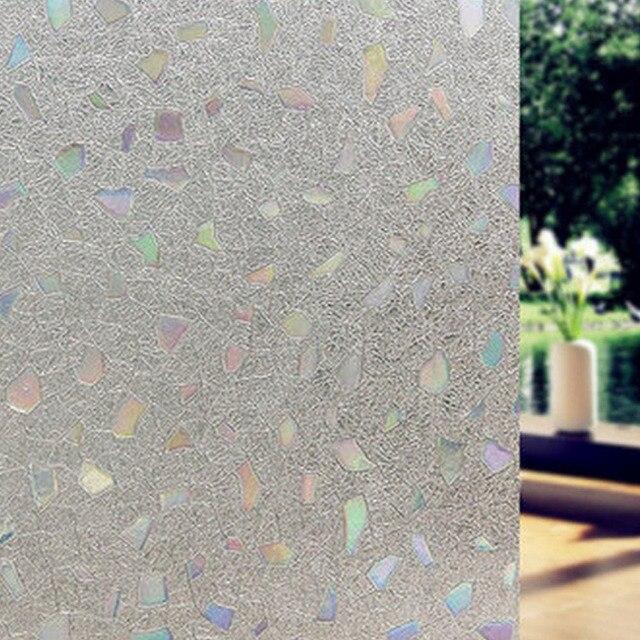 No Glue Privacy Decorative Window Film Static Cling Self Adhesive Opaque Gl Sticker Home Decor