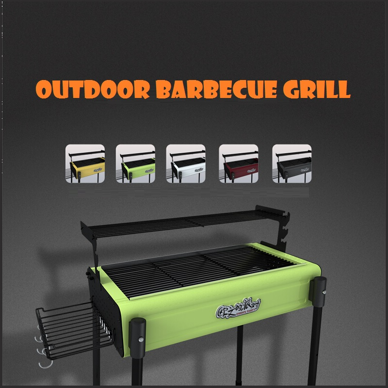 Acquista all 39 ingrosso online portatile barbecue grill da for Set completo di piani casa pdf
