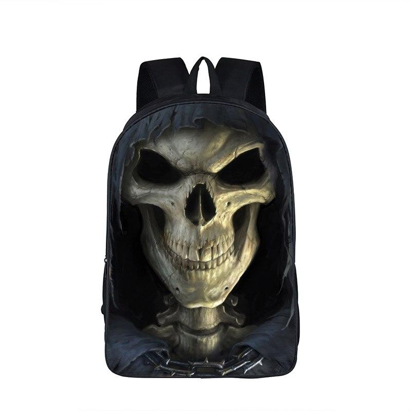 b35a68dec70b Комиксы Каратель Череп печати рюкзак подросток школьные сумки Для Мужчин's Повседневное  Daypacks Мальчики дорожные сумки школьников рюкзак купить на ...