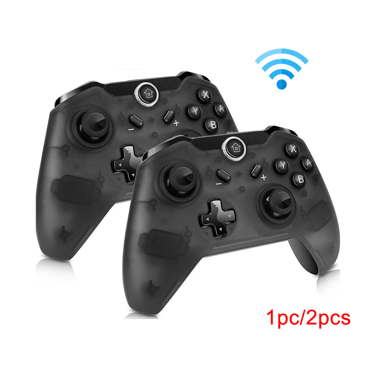 Manette de jeux à distance Bluetooth sans fil Pro pour Console de commande ntint Switch Pro pour NS pour manette de contrôle PC