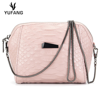 YUFANG Women Mini Bag England Style Female Messenger Bag Genuine Leather Ladies Daily Bag Candy Color