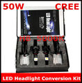 New H8 50W 5000K LED Headlight Conversion Kit 2*25Watt LEDs Bulb 2017 new