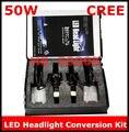 New H8 50W 5000K LED Headlight Conversion Kit 2*25Watt LEDs Bulb 2017 new