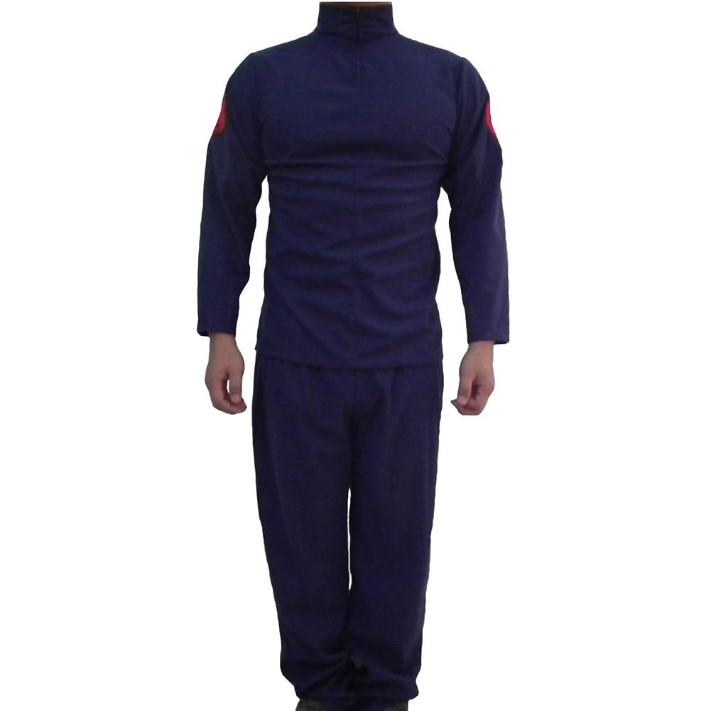 Brdwn Naruto Unisex Konoha Hokage Hatake Kakashi Kostiumų kostiumas EUR Dydis (viršūnės ir kelnės)