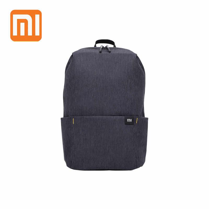 XIAOMI красочное мини рюкзак 10L 8 Цвета сумки для женские и мужские для мальчиков и девочек рюкзак Водонепроницаемость легкий Портативный Повседневное