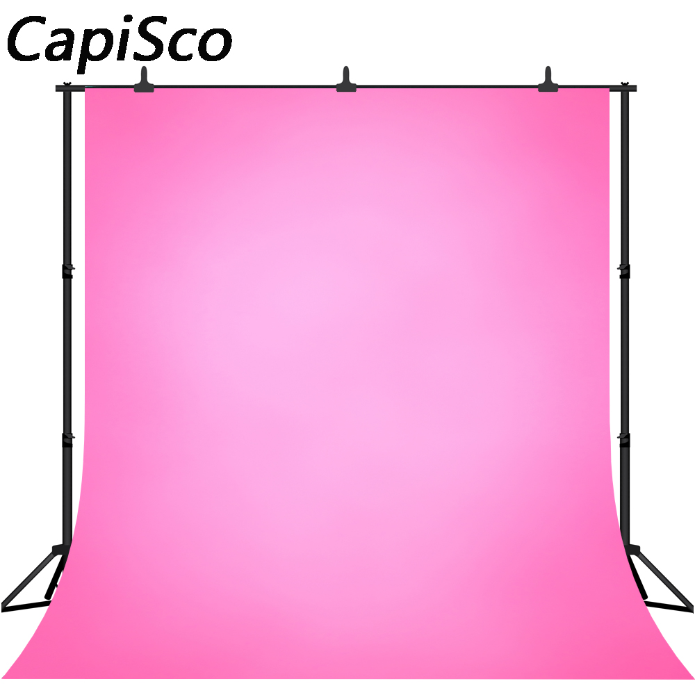 Capisco Solid Gradient Pink Baby Child Birthday party Photography Background wedding Photographic Backdrops For Photo Studio-in Background from Consumer Electronics