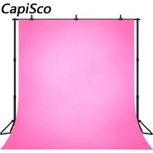 Capisco stałe gradientowe różowe dziecko dziecko urodziny fotografia imprezowa tło ślubne fotograficzne tła dla Photo Studio