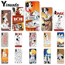 Yinuoda 101 Dalmatians One Hundred One London Adventure Phone Case for iPhone8 7 6 6S Plus 5 5S SE XR X XS MAX 11 11pro 11promax(China)