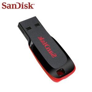 Image 3 - 100 Original Sandisk Pen Drive CZ50 USB Flash Drive 128GB 32GB 64GB High Speed 16GB 8GB Memory Stick USB Mini U Disk USB 2.0