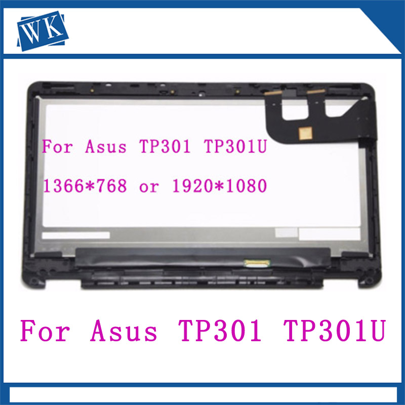 13.3Full LCD Screen Touch Digitizer Display Assembly+Bezel For Asus Transformer Book TP301 TP301U TP301UJ TP301UA N133HSE-EA313.3Full LCD Screen Touch Digitizer Display Assembly+Bezel For Asus Transformer Book TP301 TP301U TP301UJ TP301UA N133HSE-EA3