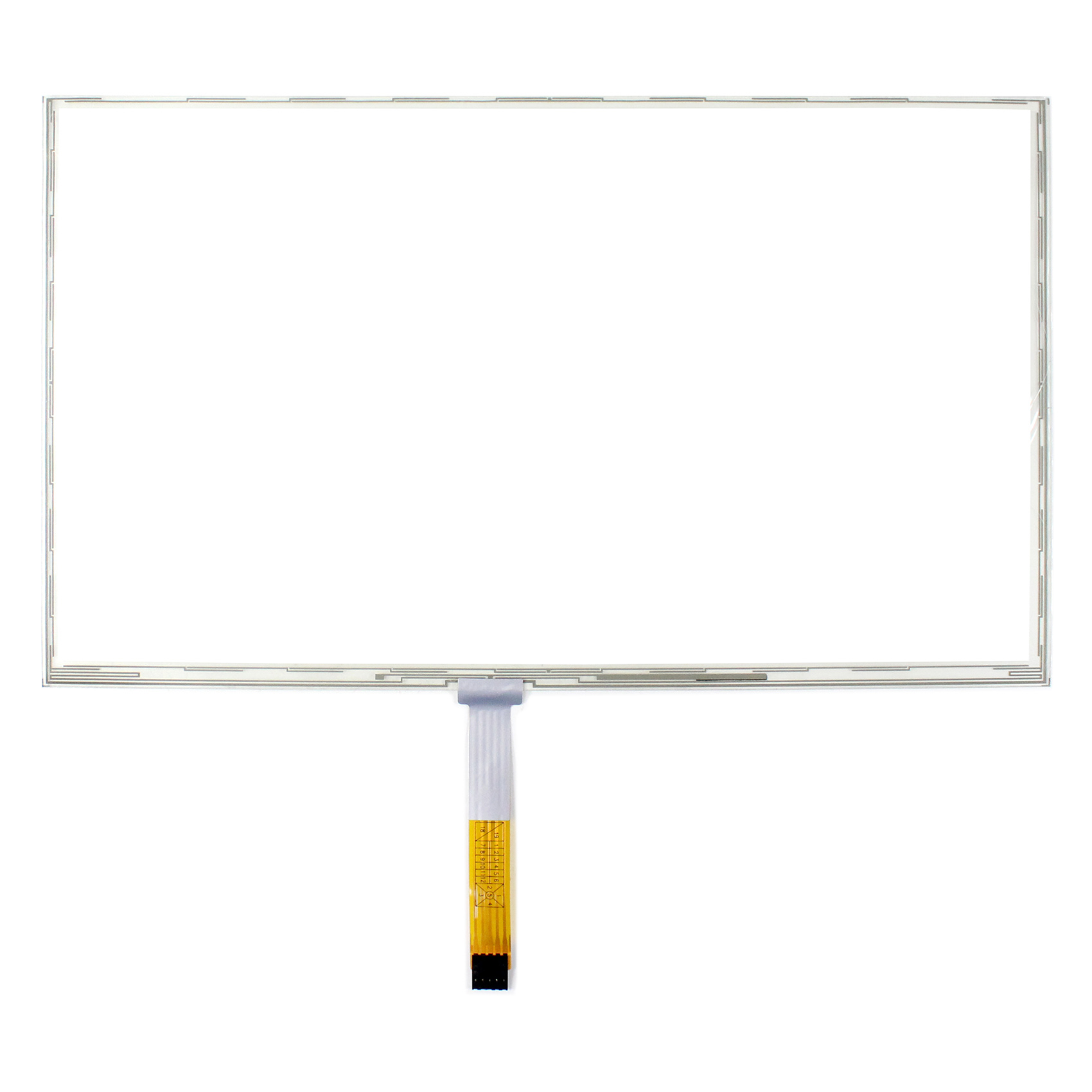 15.6 Resisitve Touch 359mm x 209mm 5-Wire Resistive Touch Panel 15.6inch  VS156TP-A2 Work For 15.6inch LCD Screen15.6 Resisitve Touch 359mm x 209mm 5-Wire Resistive Touch Panel 15.6inch  VS156TP-A2 Work For 15.6inch LCD Screen