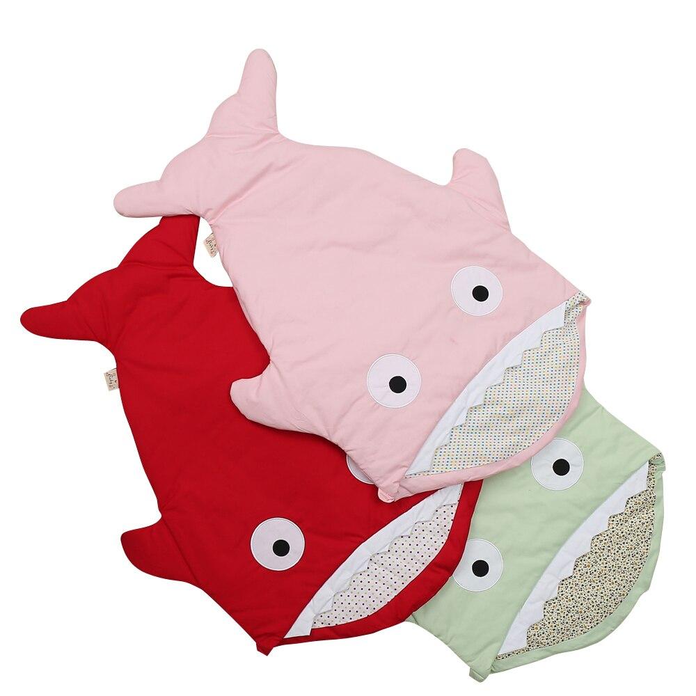 Baby Sleeping Bag Thicken Blanket Shark Sleeping Bag