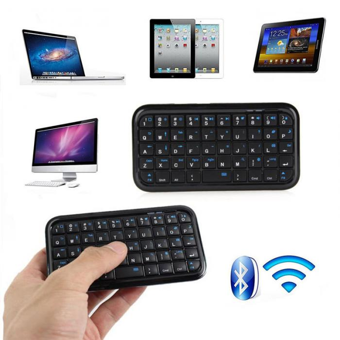 Wireless Mini Keyboard Rechargeable Bluetooth Keyboards For Tablet PS4  Phone Raspberry Pi EM88