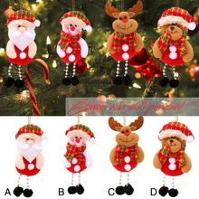 1 Pcs Christmas Decorations Santa Claus Ornaments Tree Festival Supplies Pendant