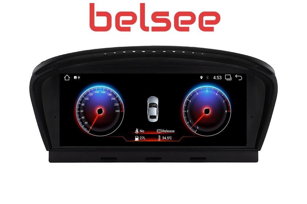 Belsee 8,8 Экран PX6 Android 8,1 оперативная память 2 Гб автомобиля gps навигации Радио мультимедийный плеер для BMW 5 серии M5 E60 E61 E62 E63 E64
