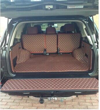 Alta qualità! tappetini tronco speciale per Lexus LX 570 5 posti 2018-2010 durable boot tappeti cargo liner mat per LX570, trasporto libero