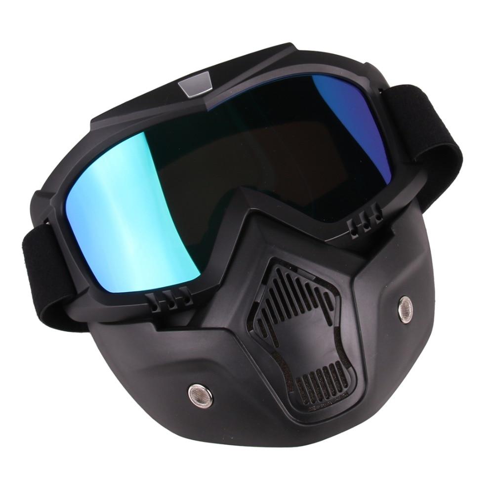 Máscara táctica de estilo clásico Suave bala Dart Espejo de - Deportes y aire libre - foto 2