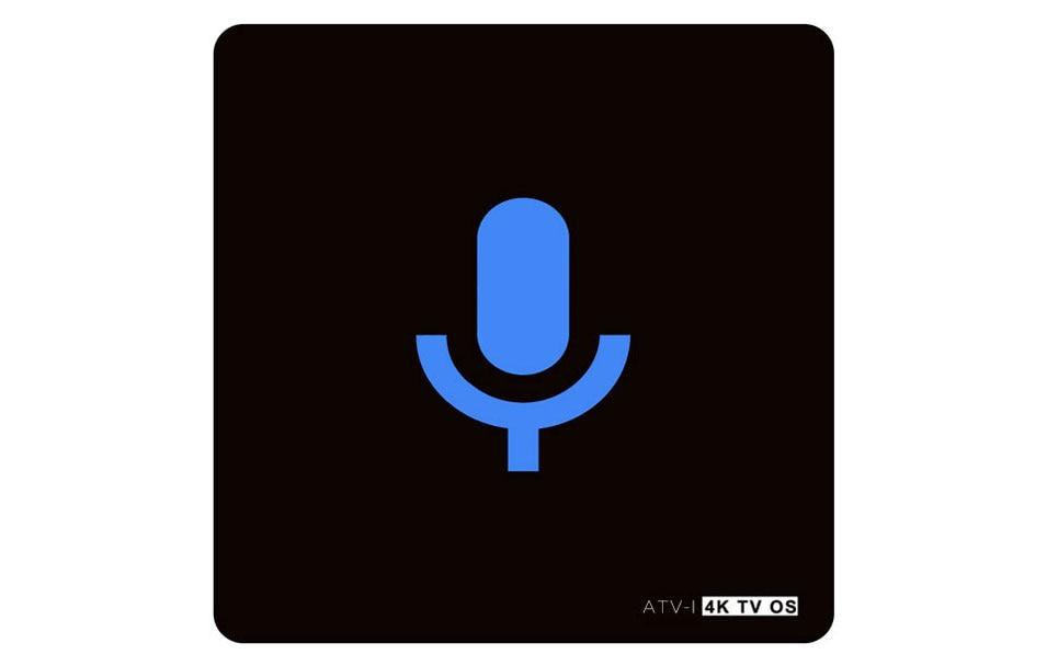 10pcs ATV-I S905X 1G+8G 4K Voice Control Smart Android TV OS box Streaming Box Support Google Play Youtube Netflix