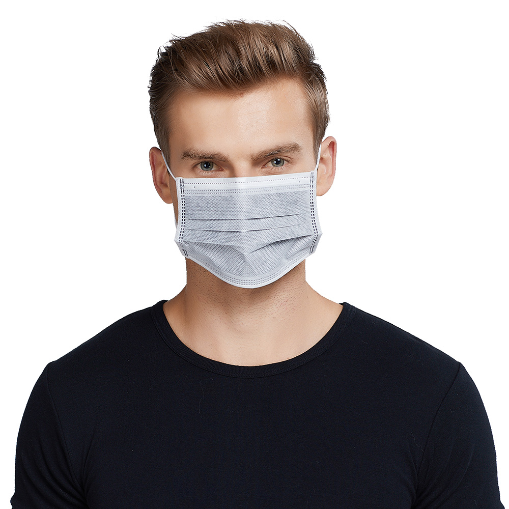 Disposable N95 Dust Non-woven Face Mask Four-layer Activated Carbon Mask