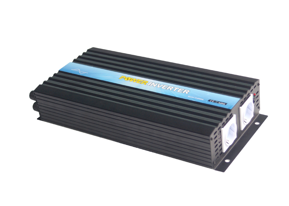 Инвертор 12 v 2000 w инвертор с чистым синусом домой Автомобильный инвертор