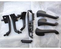 Brand New Car Black Interior Door Grab Handle Cover Trim Switch Bezel Set For VW GOLF JETTA MK5 GTI