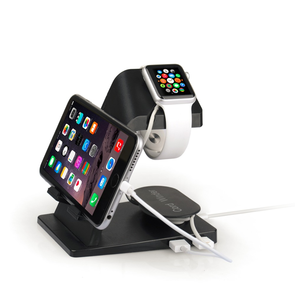 popular mens watch winder buy cheap mens watch winder lots from portable desktop usb charger charging station stand holder for apple watch for iphone 5 6 plus