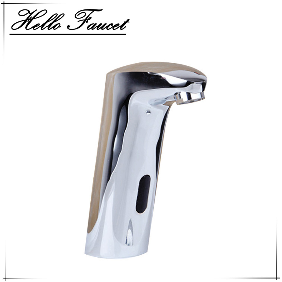 new luxury kitchen bathroom automatic hands touch free sensor basin chrome brass sink mixer tap faucets