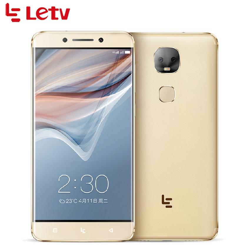 "Letv LeEco Le Pro 3 Dual AI X651 MTK6797D Deca Core RAM 4GB ROM 32GB 5.5"" Screen 13MP Dual Camera Smartphone"