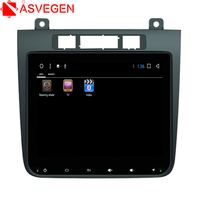 Asvegen Touch Screen Android 6.0 Quad Core Car Radio Multimedia Player Stereo GPS Navigation For Volkswagen Touareg 2011 2015