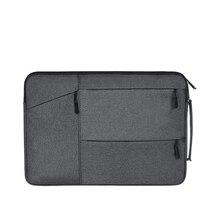 Темно-серый ноутбук рукав 15,6 «аксессуары для ноутбуков Сумка для macbook air 15 xiaomi mi ноутбук prolaptop сумки для мужчин