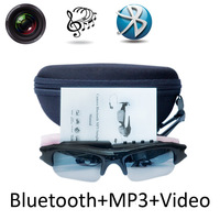 Sport Wireless Sunglasses Bluetooth Camera Eyewear Glasses W 8G RAM Video Recorder DVR DV Camcorder W