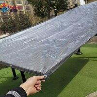 Tewango Outdoor 99% UV Sun Screen Plants Shelter Aluminum Foil Shade Sail Net Silver Balcony Cover Garden Flower Protect Custom