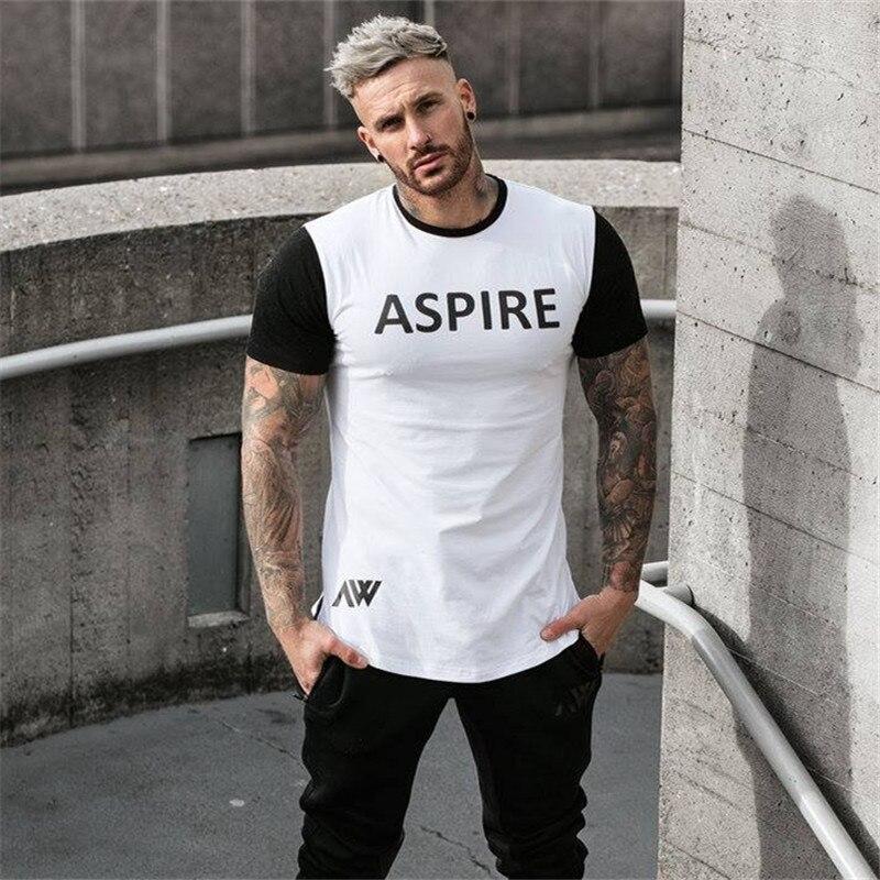 Men's New large size Gyms fitness Engineers Design Male Novelty Men T shirt Fashion T shirt Men Casual Short Sleeves T-shirt Men