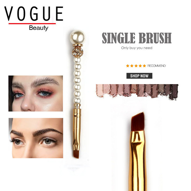 Eyebrow Makeup Brush Perfect Micro blading Tattoo threading arched Shaping eye brow makeup brushes essentials make up brushes