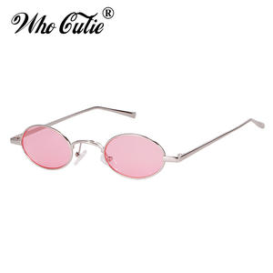 cf1cca972c WHO CUTIE Round Sunglasses Men Women 2018 Sun Glasses